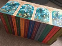 A Series of Unfortunate Events Box set of 13 books