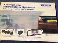 Universal Reversing sensors and camera with screen