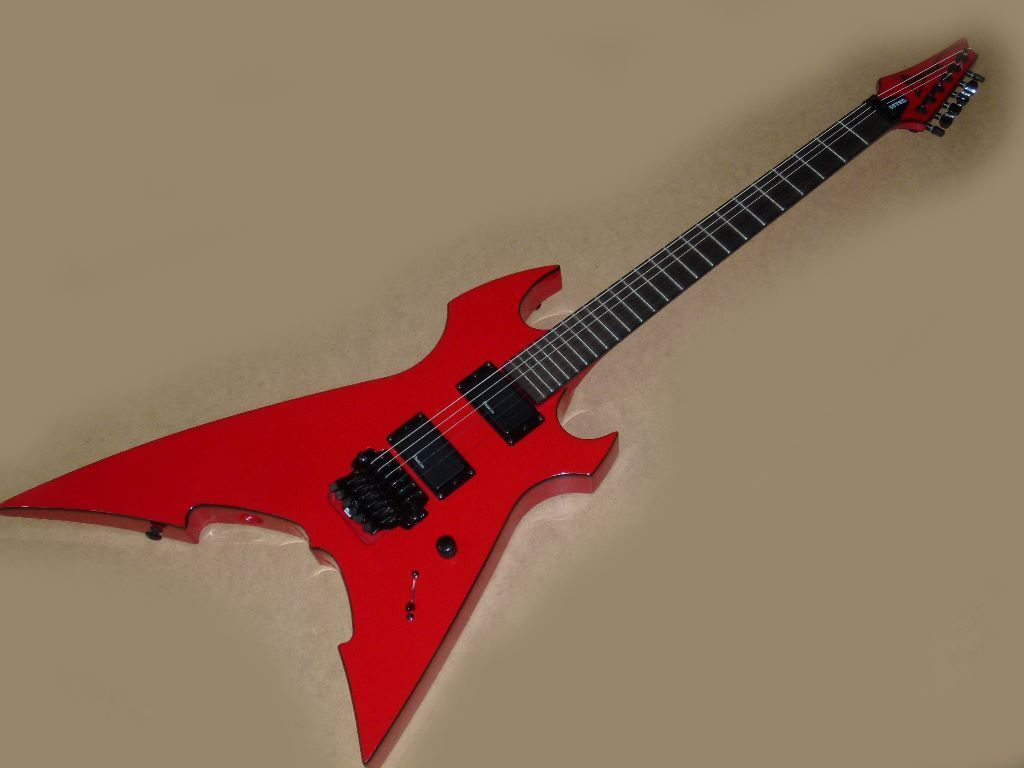 ibanez mtm 10 electric guitar mick thomson signature model in red with ibanez case. Black Bedroom Furniture Sets. Home Design Ideas