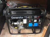 BRAND NEW SIP MEDUSA TRADE T2401 2.4KVA 230V PETROL GENERATOR