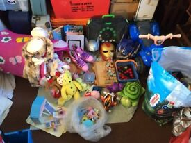 job lot of random children's items in various conditions