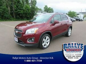 2013 Chevrolet Trax LTZ! Heated! Leather! Back-Up!