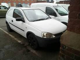 Vauxhall corsa van, low millage, new mot