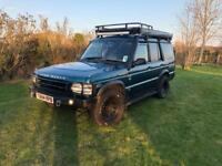 Landrover discovery 2 td5 expedition spec