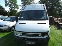 Iveco daily 35 S12 2005 High Top, 05 plate. SELL TO THE HIGHEST OFFER THIS WEEK