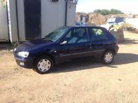 2002 Peugeot 106 Zest 1.1 **Long MOT**
