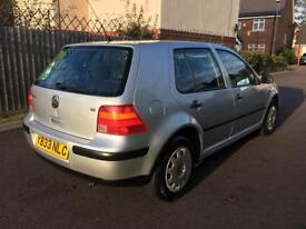 VOLKSWAGEN GOLF, 1.6, AUTOMATIC, 63,000 MILES,SE, CAMBELT CHANGED, SERVICE HISTORY,