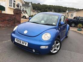Volkswagen Beetle 1.6 low mileage