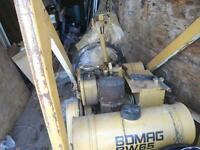 BW65 BOMAG DOUBLE ROLLER COMPACTOR