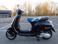 2005 PIAGGIO VESPA ET4 125 4T AUTO SCOOTER MOPED GWO 60MPH+ NEW MOT & TAX V5
