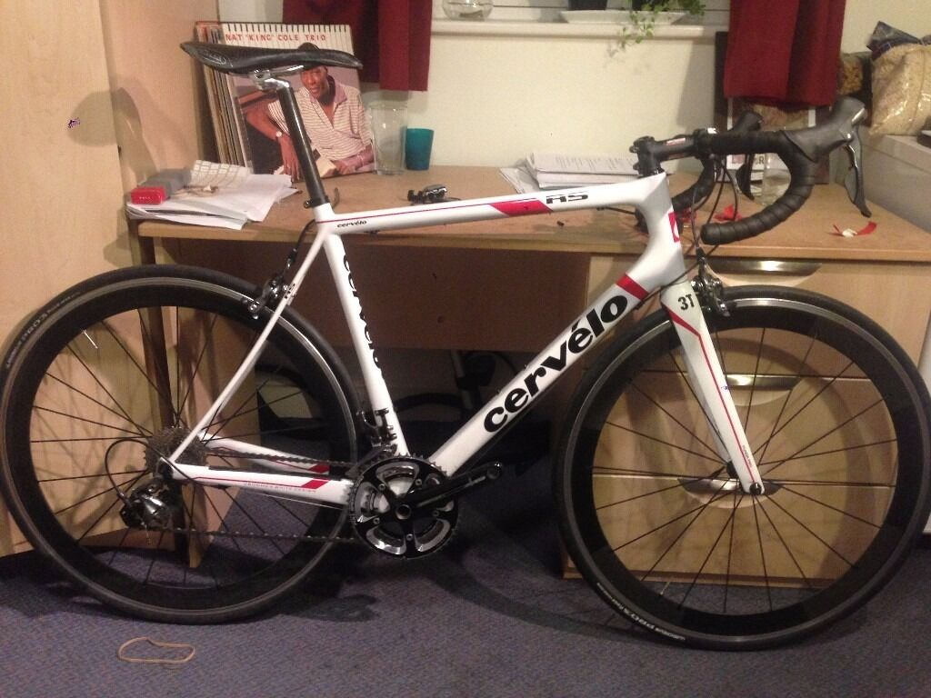 Cervelo Rs 56cm With Ultegra 6800 And Carbon Wheelset In