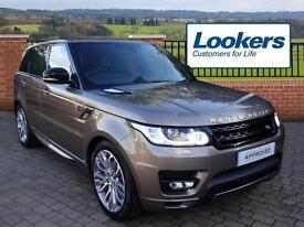 Land Rover Range Rover Sport SDV6 HSE DYNAMIC (brown) 2016-09-27
