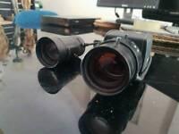 Pelco CCTV camera with spare lens