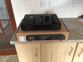 Vuduo2 satellite receiver set up but never used 14months old