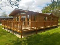 Luxury Lodge for sale Co Durham 5* owners leisure park BRAND NEW DEVELOPMENT Wolsingham FREE FISHING