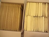 2 x Large Boxes of New Gold Bubble Padded Sealed Air Mailing Bags / Envelopes D1 and H5