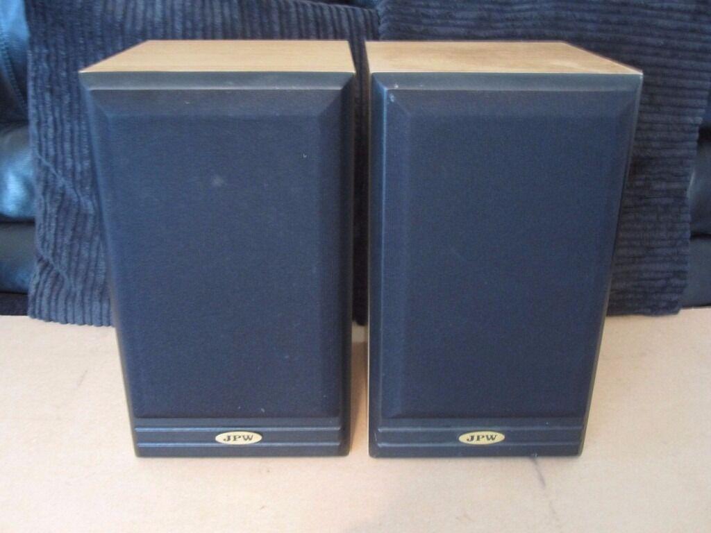 JPW ML510 70W bi-amp bi-wire bookshelf speakers in beech. | in ...