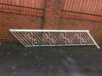 Reclaimed Wrought Iron Stair Rail / Banister ( Can Deliver ) CALL MALC