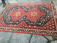 Splendid Large Antique Woburn Shiraz Oriental Rug 100% New Zealand Pure Wool