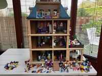 Playmobil mansion house & accessories