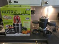 Nutribullit 600series 12 piece set Hardly used