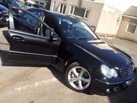 MERCEDES C220 CDI AVANTGDE CHEAP CAR 1 lady owner MAY PART EXCHANGE / ONO