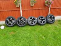 genuine Audi alloy wheels set 16 inch golf seat Leon similar