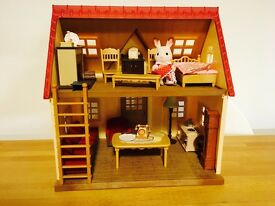 Sylvanian Families Cosy Cottage and Hedgehogs