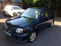 2000 X reg Nissan Micra 1.0 S 3dr ONLY 52,000 Miles 2 lady owners