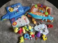 Baby pram car seat toys