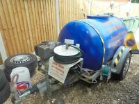 towable diesel pressure washer bowser £2000