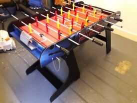 Folding Football table with Electronic plastic darts board