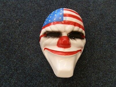 Payday Masks Halloween Costume Horror Hoxton Dallas Chains Wolf Face Video Games - Horror Halloween Dress Up Games