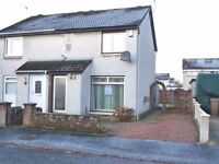 **NEW** UnFurnished 2 Bedroom House, Enclosed Rear Garden, Driveway - Hallidale Crescent - Renfrew