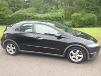 HONDA CIVIC 2.2 SE I-CDTI DIESEL 2008 1 FORMER OWNER MOT DECEMBER 2018 LEATHER INTERIOR CHEAP CAR