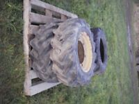 digger front tyres