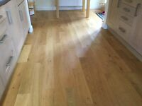 Engineered Oak floor boards