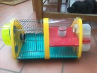 Rotastak Super Pod Small Animal Cage including waterbottle and wheel