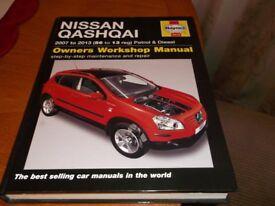 Nissan Qashqai Haynes Manual