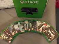 Xbox One with 11 games plus 2 controllers and chargers