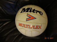 Wanted, early unused mitre football. Multiplex or similar.