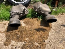 Mercedes c320 exhaust tips and boxes and rear diffuser
