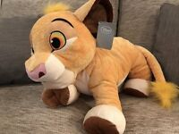 Official Disney Store Simba Lion King Soft Toy