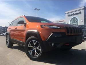 2016 Jeep Cherokee Trailhawk 3.2L 9 Speed