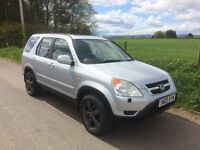 HONDA CRV 2.0 Sport 4x4 (Petrol) with spare Winter Wheels and Towbar