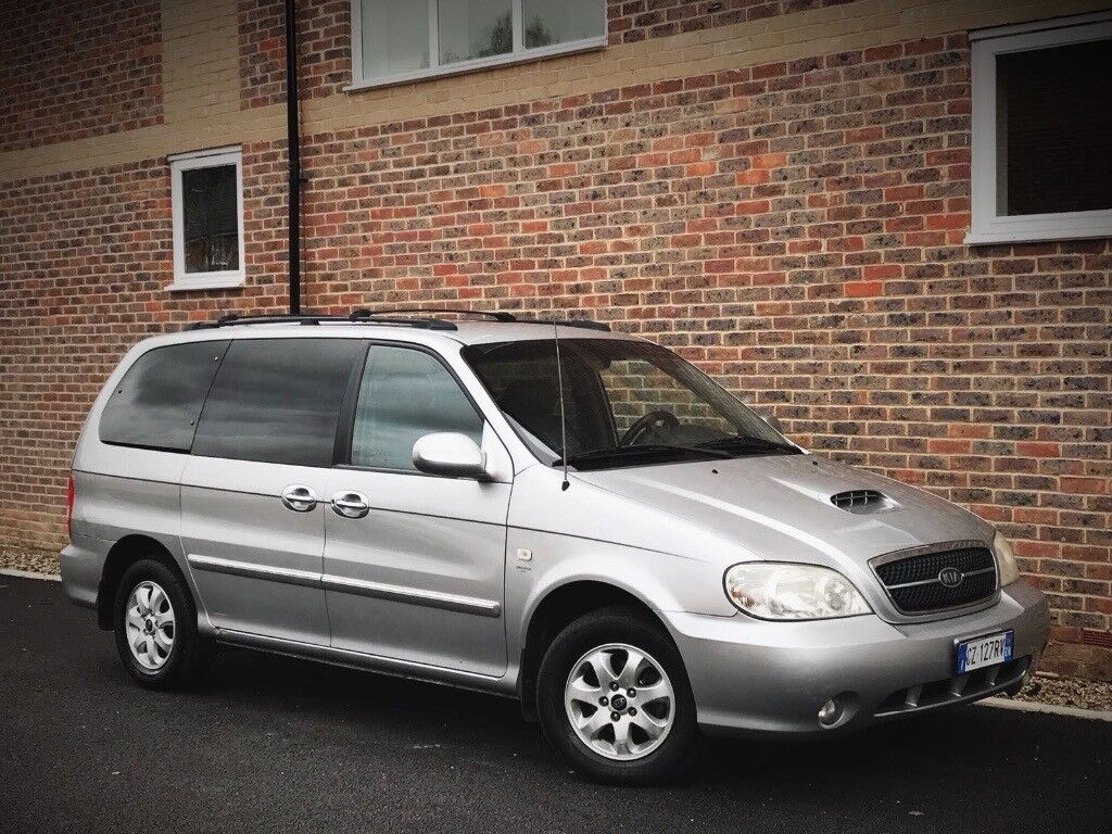 LEFT HAND DRIVE KIA SEDONA 2.9 CRDi Diesel/Manual/7 Seater/Service  History/Luxury Leather/LHD/RARE