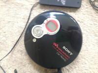 Portable car cd player