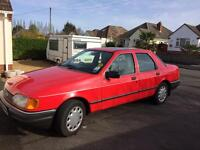 Ford Sierra sapphire GL, full services history, low mileage. Owned for 17 years.