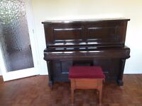 FREE! W.H.Barnes piano and stool