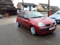 Only 19,000 Miles From New, Renault Clio, 5 Door hatchback, Ultra Low Mileage,